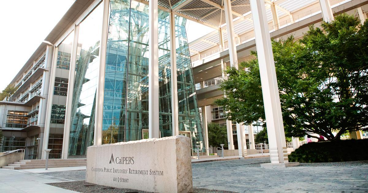 CalPERS Headquarters Sign